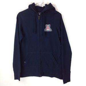 Navy blue U of A hoodie